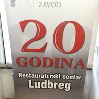 Photo taken at Dvorac Batthyany, Restauratorski Centar Ludbreg by Kemal D. on 12/16/2015