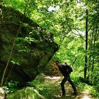 Photo taken at Whiteoak Canyon Falls by Jacqueline A. on 5/26/2013