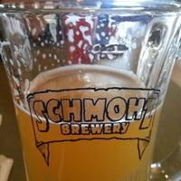 Photo taken at Schmohz Brewing Co. by Stephanie J. on 5/25/2013