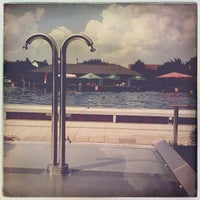 Photo taken at Freibad Heppenheim by Oliver W. on 6/8/2013