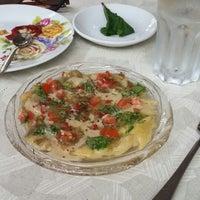 Photo taken at Ouzeria by Ekaterina R. on 5/7/2014
