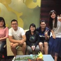 Photo taken at Moonon Lounge Bar @ Queena Plaza Hotel (桂田酒店) by 璟玟 張. on 5/7/2016
