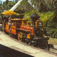 Photo taken at Train At The Brevard Zoo by Tim K. on 4/21/2017