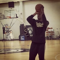 Photo taken at Brooklyn Nets practice facility by Kat P. on 11/25/2014