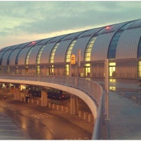 Photo taken at Budapest Liszt Ferenc International Airport (BUD) by Petr V. on 2/3/2013