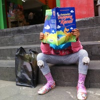 Photo taken at Taman Pintar Bookstore by Yani W. on 10/7/2015