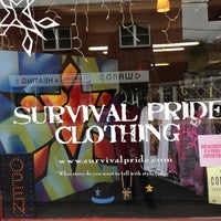 Photo taken at Survival Pride Clothing by Tina M. on 12/11/2012