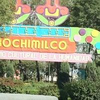 Photo taken at Xochimilco by Eduardo H. on 10/5/2012