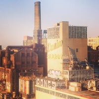 Photo taken at Domino Sugar Factory by ED on 4/27/2013