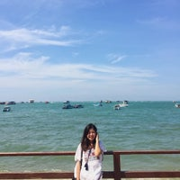 Photo taken at Pattaya Beach Front by Natcha C. on 1/19/2017