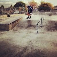 Photo taken at Joseph Randal Skate Park by Eric G. on 11/10/2013