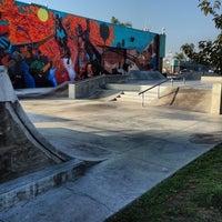 Photo taken at Joseph Randal Skate Park by Eric G. on 11/9/2013