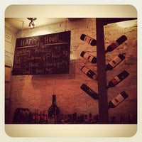 Photo taken at La Cava Wine Bar by Teddy on 3/22/2013