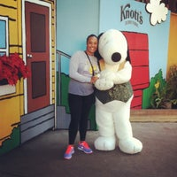 Photo taken at Camp Snoopy by Frances H. on 1/1/2013