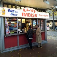 Das Foto wurde bei Ka-We Imbiss von Christophe am 10/23/2012 aufgenommen