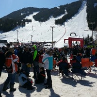 Photo taken at Snow King Ski Area and Mountain Resort by Ashley H. on 3/22/2014