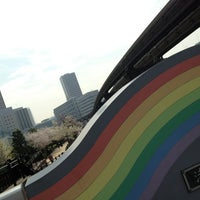 Photo taken at 渚橋 by きなこ・x・ on 3/28/2013