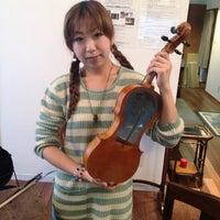 Photo taken at 日本ヴァイオリン 東京本店 by きなこ・x・ on 12/6/2012