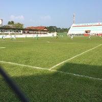 Photo taken at Estádio Francisco Vasques (Souza) by Gilberto C. on 9/24/2014