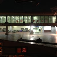 Photo taken at Pune Airport (PNQ) by Vikram T. on 5/11/2013