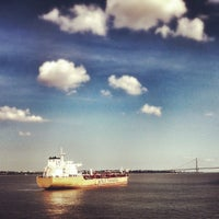 Photo taken at New York Harbor by Chris R. on 7/6/2013