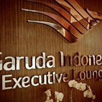 Photo taken at Garuda Indonesia Executive Lounge by Asadilah on 1/27/2013