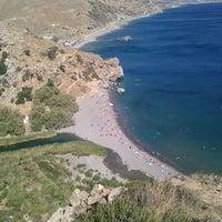 Photo taken at Preveli Beach by Dmitry I. on 8/19/2013