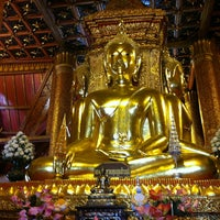 Photo taken at Wat Phu Mintr by Praphot T. on 12/31/2012