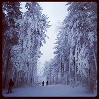 Photo taken at Greek Peak Mountain Resort by Pete B. on 12/28/2012