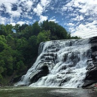 Photo taken at Ithaca Falls by Pete B. on 5/25/2015