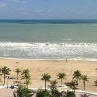 Photo taken at Courtyard Fort Lauderdale Beach by Bruce S. on 10/28/2012