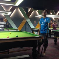 Photo taken at Q5 Snooker Centre by Nazim S. on 3/14/2014