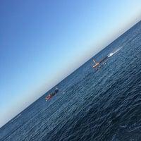 Photo taken at Oris Beach by Günay B. on 8/13/2018