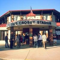 Photo taken at Bing Crosby Stadium by Khairul Naim on 7/28/2013