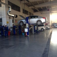 Photo taken at Peugeot by Eyyüp G. on 2/13/2014