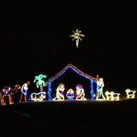 Photo taken at Tanglewood Festival of Lights by Christa P. on 12/5/2012
