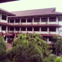 Photo taken at Universitas Gunadarma by Ilham W. on 10/27/2013