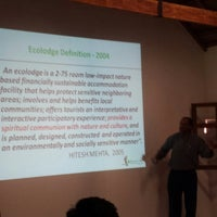 Photo taken at Ecotourism And Sustainable Tourism Conference by Jean S. on 4/26/2014