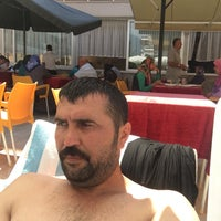 Photo taken at Club Bayar Beach Hotel by Hasan H. on 8/31/2016