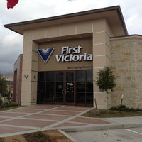 Photo taken at First Victoria National Bank by Butch E. on 12/15/2012