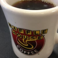 Photo taken at Waffle House by Emily B. on 3/19/2013