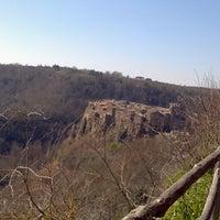 Photo taken at Calcata by Viviana A. on 3/3/2013