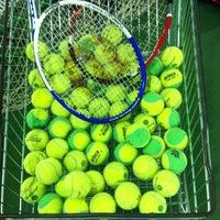 Photo taken at DSİ Tenis Kortları by Merve A. on 12/11/2013
