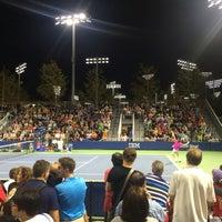 Photo taken at Court 13 - USTA Billie Jean King National Tennis Center by Joslyn H. on 9/2/2016