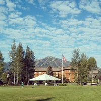 Photo taken at Sun Valley Resort by Fred W. on 7/10/2013