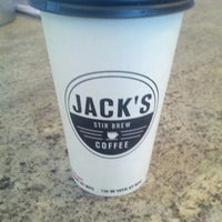 Photo taken at Jack's Stir Brew Coffee by Fred W. on 11/23/2012