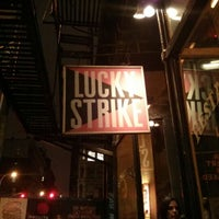 Photo taken at Lucky Strike by Fred W. on 12/11/2012