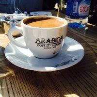 10/21/2016 tarihinde Irfan B.ziyaretçi tarafından Arabica Coffee House'de çekilen fotoğraf