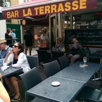 Photo taken at Bar La Terrasse by Mary Ann on 6/26/2014