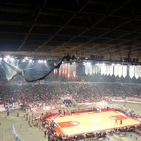 Photo taken at SEF - Peace & Friendship Stadium by Nikos S. on 4/12/2013